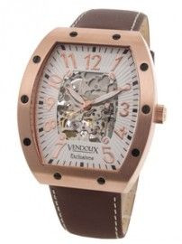 Vendoux watch automatic pink LR 12912-02