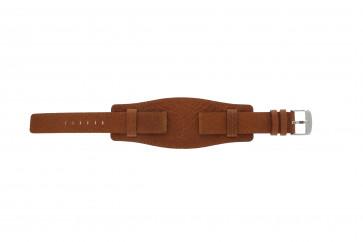 Davis watch strap B0222 Leather Cognac 18mm