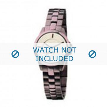 Mexx watch strap  Metal Purple 14mm