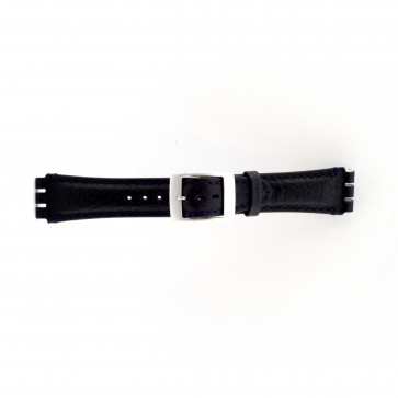 Watch strap for swatch dark blue 19mm PVK-SC14.05