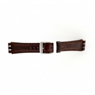 Strap for Swatch brown 19mm PVK-SC14.02