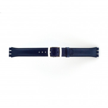 Strap for Swatch marine blue 19mm