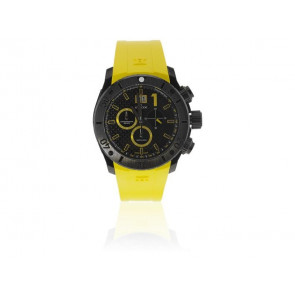 Edox watch strap 10020 37N NJ2 Rubber Yellow
