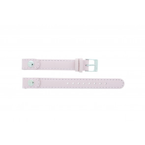 Lacoste watch strap 2000387 / LC-05-3-14-0009 Leather Pink 12mm + standard stitching
