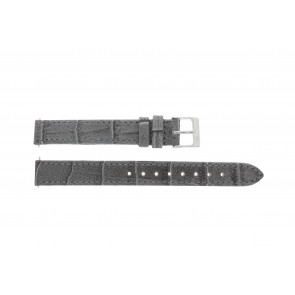 Lacoste watch strap 2000514 / LC-05-3-14-0167 Leather Grey 13mm + default stitching