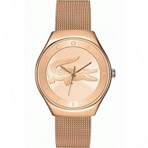 Lacoste watch strap 2000872 / LC-71-3-34-2538 Metal Rosé 18mm