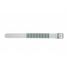 Lacoste watch strap 2000892 / LC-84-3-14-2596 Silicone Green 18mm