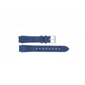 Prisma watch strap 33 832 117 Leather Blue 14mm + blue stitching