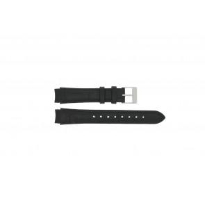 Prisma watch strap 33 832 117 Leather Black 14mm + black stitching