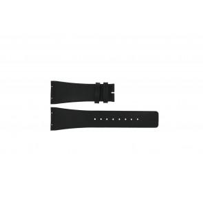 Boccia watch strap 3541-02 Leather Black 20mm