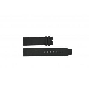 Boccia watch strap 3780-01 Leather Black 20mm + standard stitching