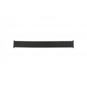 Watch strap 382960 Metal Black 22mm