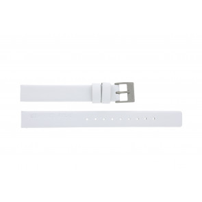 Rolf Cremer watch strap 497604 Leather White 12mm