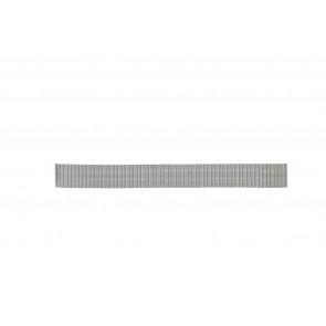 Watch strap 551129-18 Metal Silver 18mm