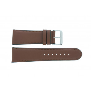 Watch strap 61215B.23.26 Leather Brown 26mm + default stitching