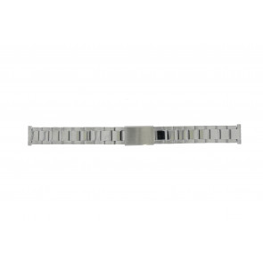 Morellato watch strap BE22.0486 Metal Silver 16mm