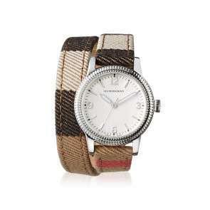Watch strap Burberry BU7849 Leather Multicolor