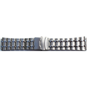 Watch strap CM3025-28 Metal Stainless steel 28mm