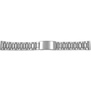 Watch strap CMA54-26 Metal Silver 26mm