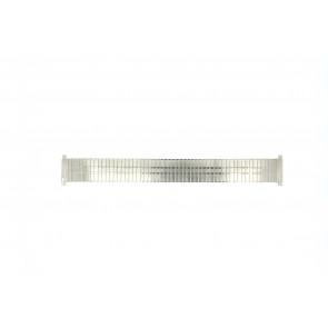 Watch strap EC113 Metal Silver 18mm