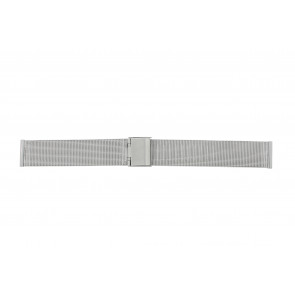 Other brand watch strap E-ST-ZIL-18 Metal Silver 18mm