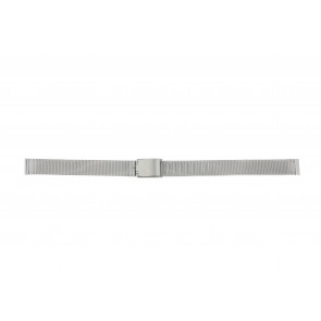 Other brand watch strap E-ST-ZIL-12 Metal Silver 12mm