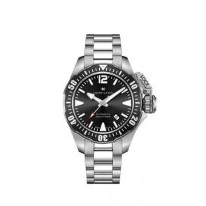 Watch strap Hamilton H77605135 / H77705145 Steel Stainless steel 20mm