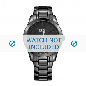 Hugo Boss watch strap HB-269-1-49-2792 / HB1513223 Ceramics Black