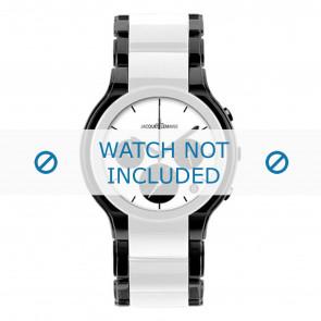 Jacques Lemans watch strap 1-1580E Ceramics Bi-color