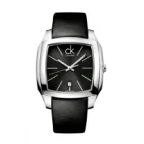 Calvin Klein watch strap K600.000.095 Leather Black 20mm