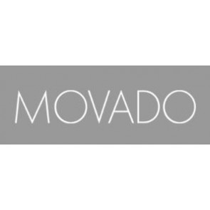 Movado watch strap 81-A1-840 LM-43 Leather Red 15mm + standard stitching