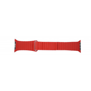 Apple (replacement model) watch strap LS-AB-110 Leather Red 42mm