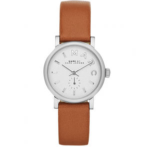 Watch strap Marc by Marc Jacobs MBM1270 Smooth leather Beige