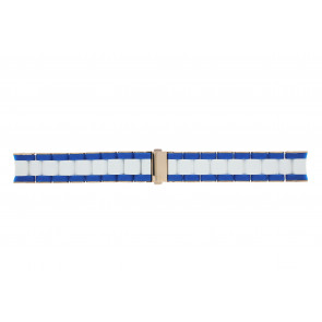 Marc by Marc Jacobs watch strap MBM2594 Silicone Bi-color 20mm