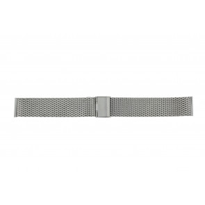 Other brand watch strap MESH18 Metal Silver 18mm