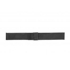 Other brand watch strap MESH18.01 Metal Black 18mm