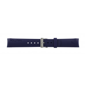 Nautica watch strap A30004G / A12627G / A12627G / A14555 Rubber Blue 22mm