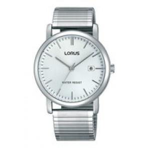 Lorus watch strap RG855CX9 / VJ32 X246 / RHA042X Metal Silver 19mm