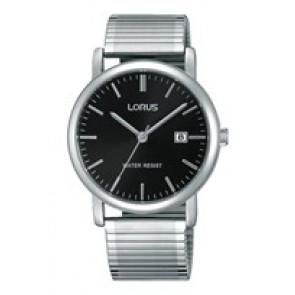 Lorus watch strap RG857CX9 / VJ32 X246 / RHA042X Metal Silver 19mm