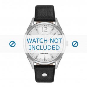 Roamer watch strap 550660-41-25-05 Leather Black 18mm