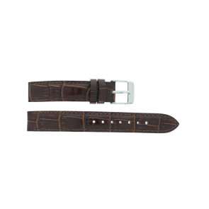 Lorus watch strap V501 X292 / RRS73UX-9 / V501- X29201A Leather Brown 14mm + default stitching