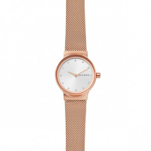 Watch strap Skagen SKW2665 Steel Rosé