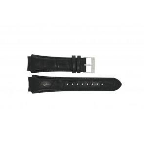 Prisma watch strap SPECZW21 Leather Black 21mm + black stitching