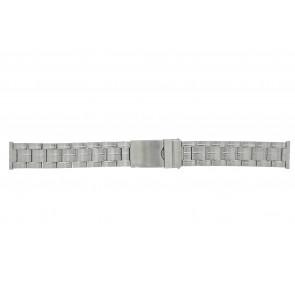Morellato watch strap ST0320 Metal Silver 20mm