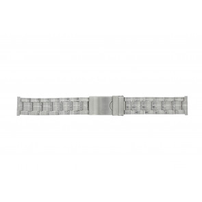 Morellato watch strap ST0420 Metal Silver 20mm