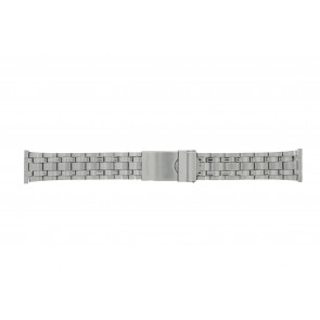 Morellato watch strap ST1022 Metal Silver 22mm