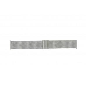 Morellato watch strap ST1722 Metal Silver 22mm