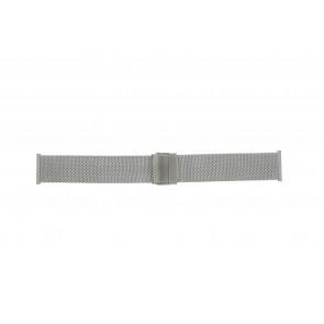 Morellato watch strap ST1820 Metal Silver 20mm