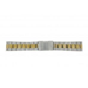 Other brand watch strap 1014-20-BI Metal Bi-color 20mm