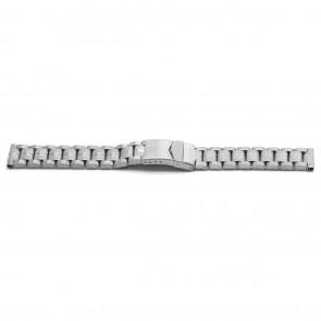 Watch strap YJ01 Metal Silver 26mm